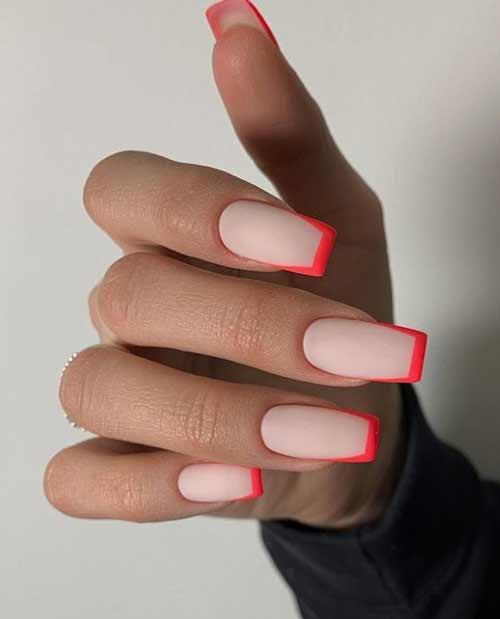 Летний дизайн ногтей фото френч