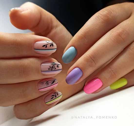 Летний дизайн ногтей 2021: фото, лучшие новинки маникюра