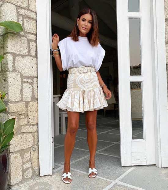 Модная мини-юбка фото
