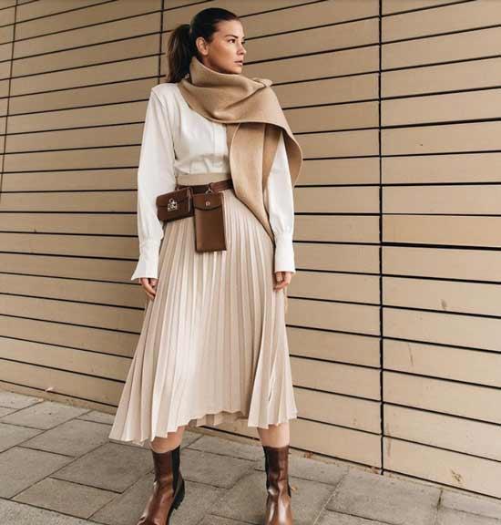Модные юбки образы