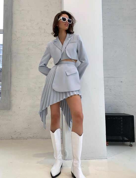 Модные юбки 2021