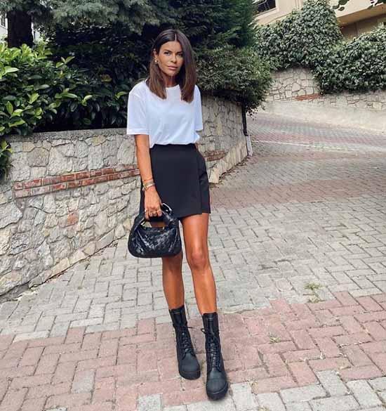 Модные короткие юбки