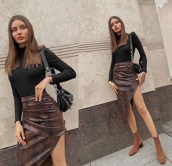 Модные юбки фото
