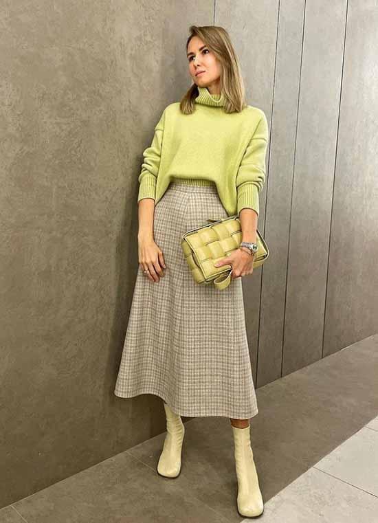 Образы с модными юбками