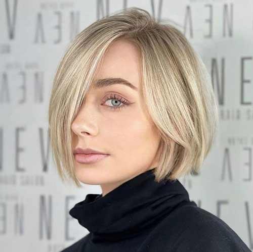Стрижки на прямые волосы в фото