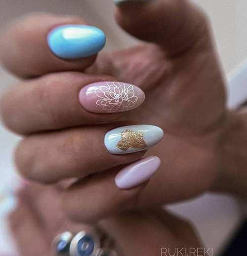 Весенние ногти дизайн