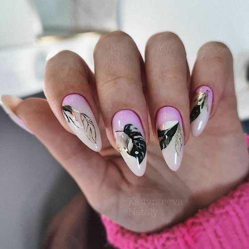 Весенний дизайн ногтей 2021: новинки, фото маникюра