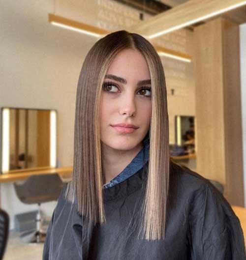 Волосы одной длины