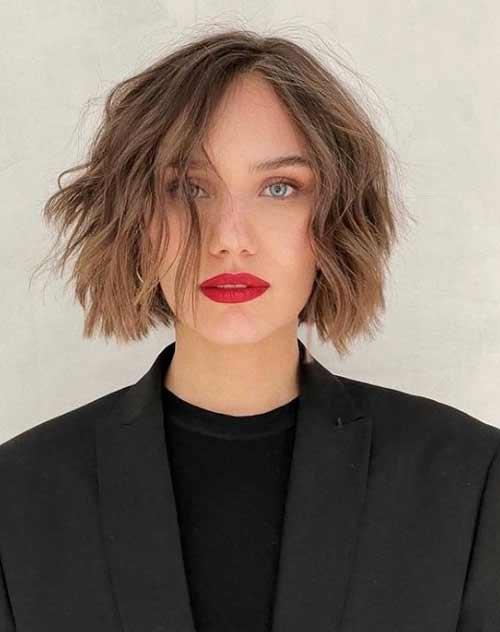Шегги на короткие волосы без челки
