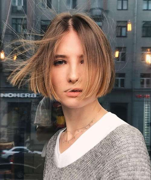 Короткие женские стрижки без челки 2021: фото, модные новинки