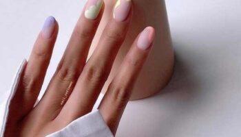 Нежный маникюр на короткие ногти фото новинки