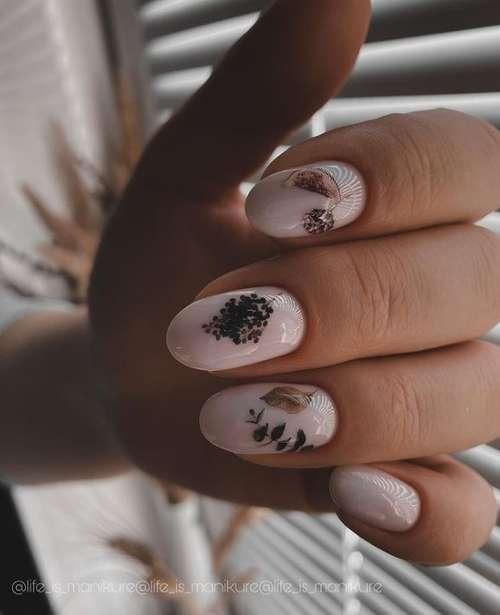 Нежный маникюр на короткие ногти 2021: фото, новинки дизайна
