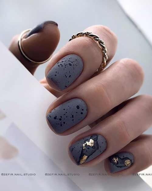 Дизайн ногтей брызги краски