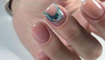 Дизайн ногтей с разводами