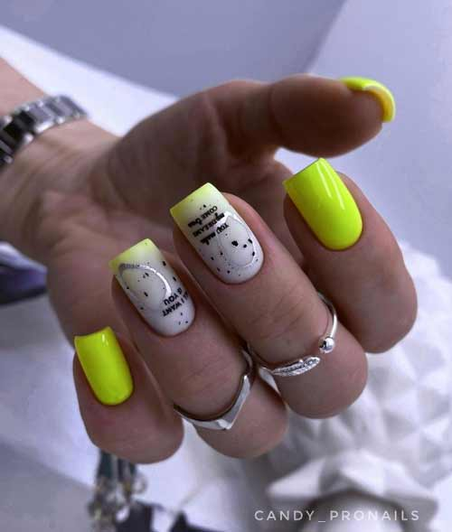 Дизайн молочный градиент на ногтях тренд