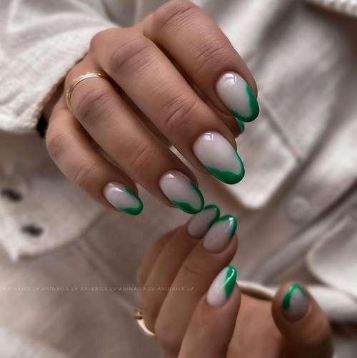 Френч зеленый