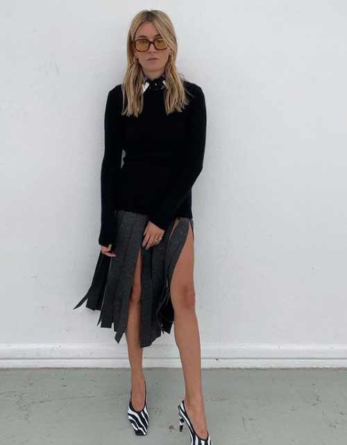 Prada - модная юбка