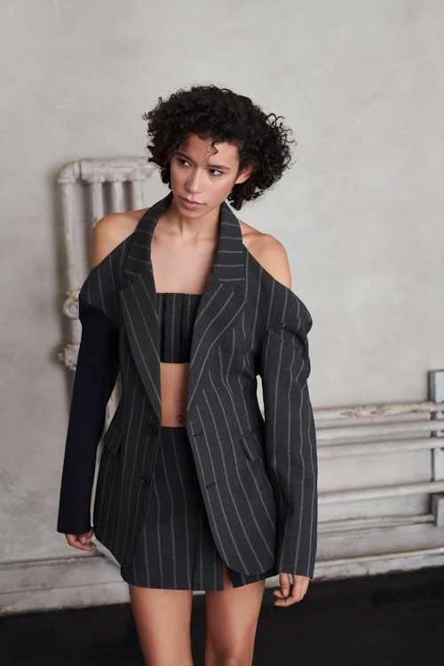 Модные юбки с разрезом фото