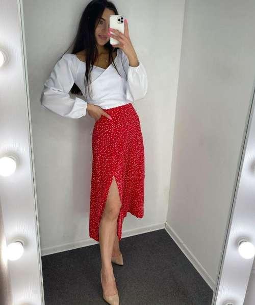 Образы с модной юбкой