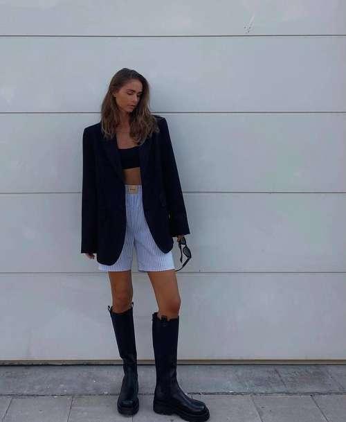Шорты мода