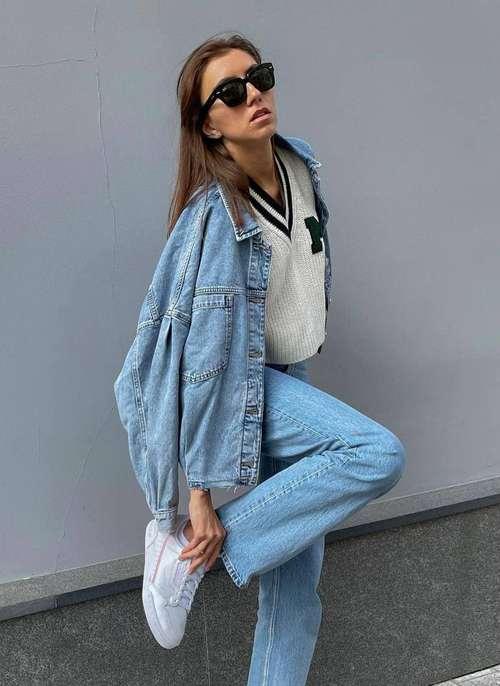 Модные джинсы осень-зима 2021-2022: тенденции, фото