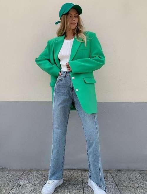 Модные джинсы фото образы