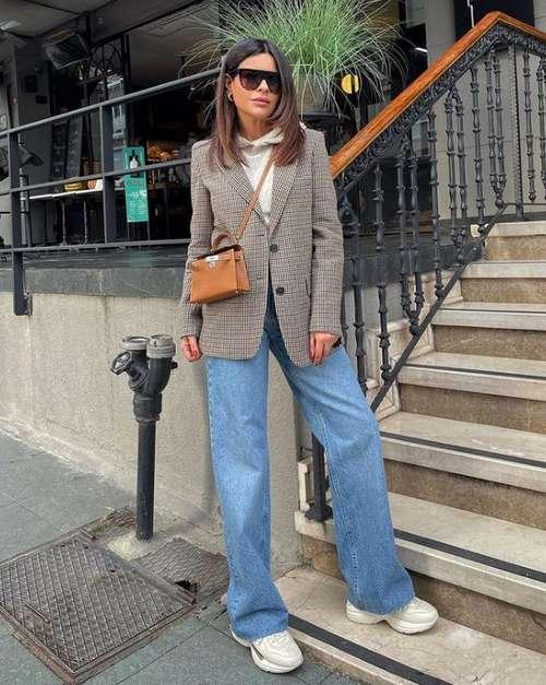 Классика модные джинсы