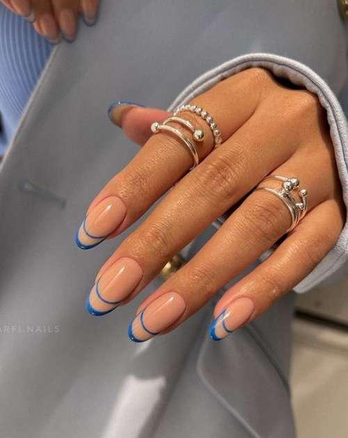 Морской маникюр 2021: новинки дизайна ногтей на море, фото