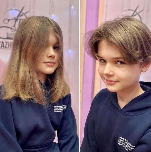 Стрижка 10 лет девочка