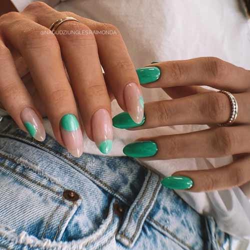 Яркий дизайн ногтей новинки