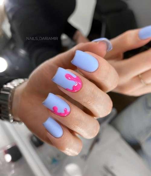 Яркие ногти дизайн