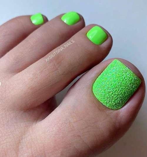 Матовый зеленый
