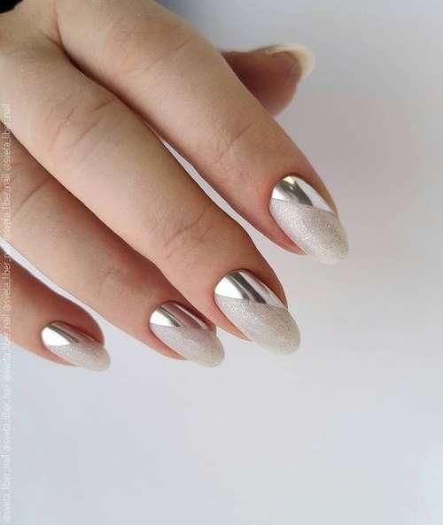 Лунный маникюр 2021-2022: фото, новинки дизайна ногтей