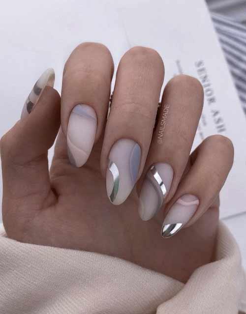 Разные дизайны ногтей с декором