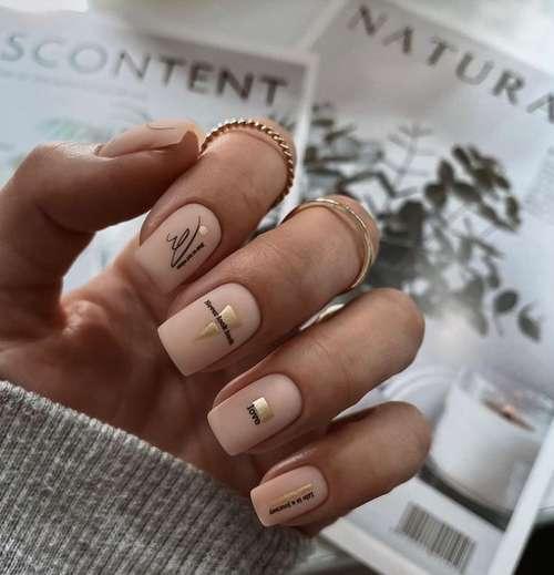 Разный декор ногти
