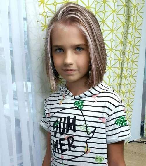 Стрижки для девочек от 10 до 16 лет: фото, новинки 2021-2022