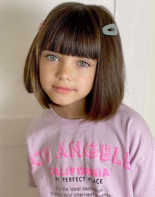 Стрижки модные для девочек