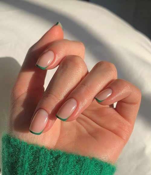Зеленый френч классика