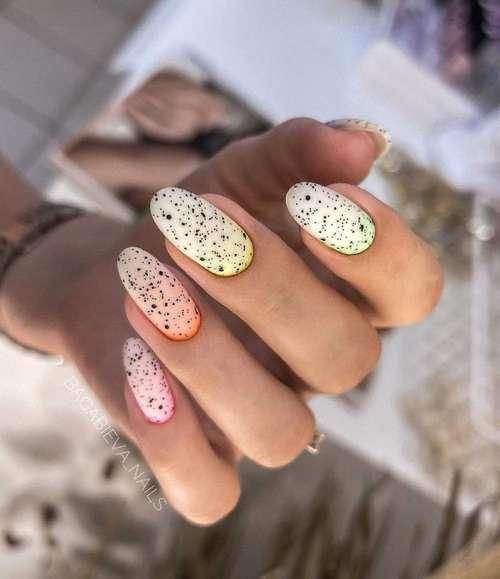 Модная форма ногтей осень-зима