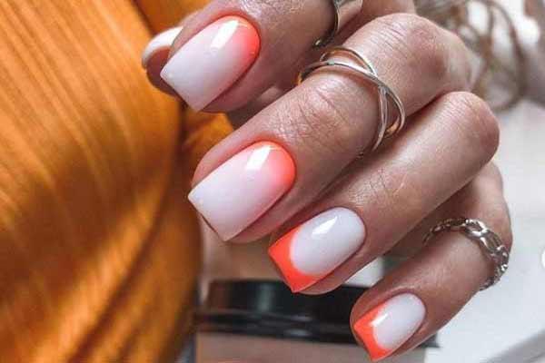 Маникюр на короткие квадратные ногти: модные новинки