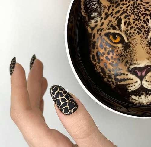 Принт под леопард