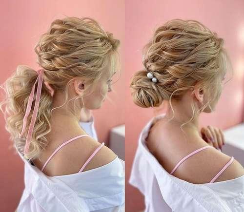 Прически на средние волосы для девушек: тренды 2021, фото, новинки