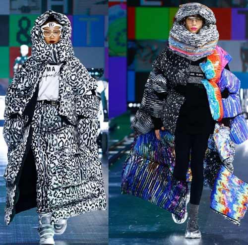 Модные пуховики Dolce & Gabbana