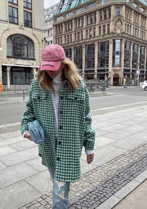 Модная рубашка в клетку как носить