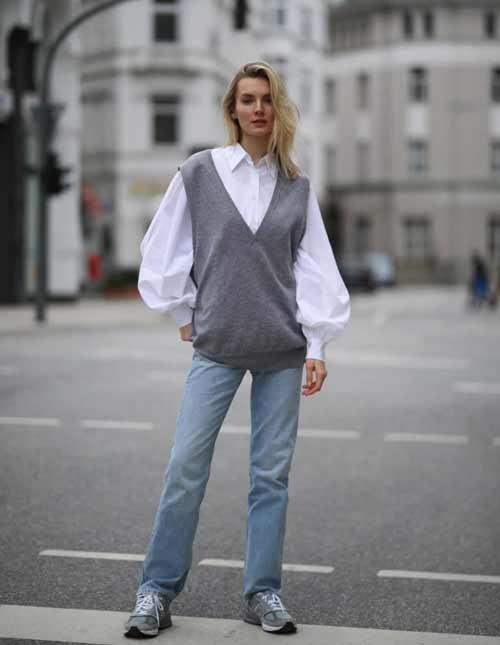 Модные фасоны женской рубашки оверсайз