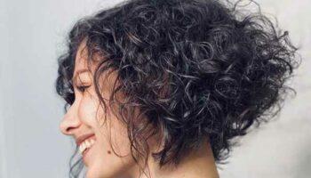 Стрижки на кудрявые волосы фото