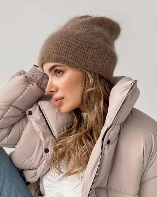 Женские пуховики зима