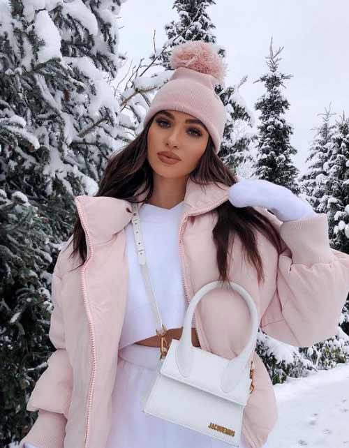 Модные пуховики зима для женщин