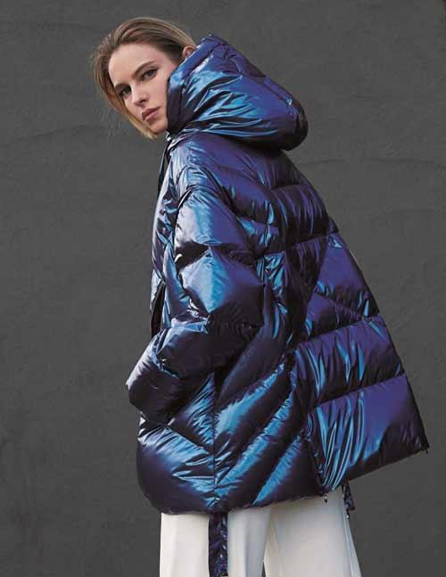 Модные пуховики зима