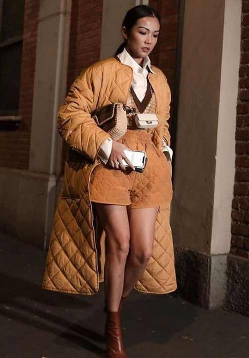 Тренды женские пуховики зима